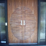 Wooden Door Without Glass